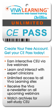 Register for any live webinar to get a CE Pass.